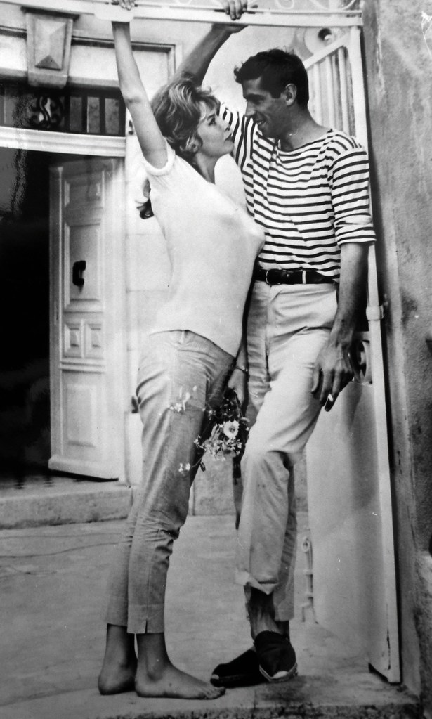 Roger Vadim and Annette Stroyberg