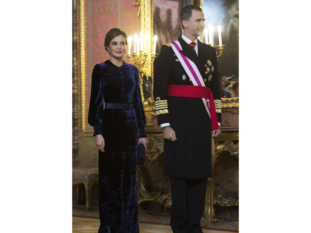 Queen Letizia on 5 January 2018