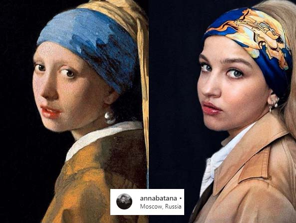 Getty museum challenge: recreate Vermeer the girl with a pearl earring
