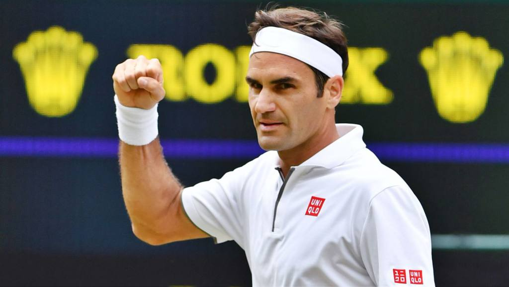 Roger Federer 8 time Wimbledon champions