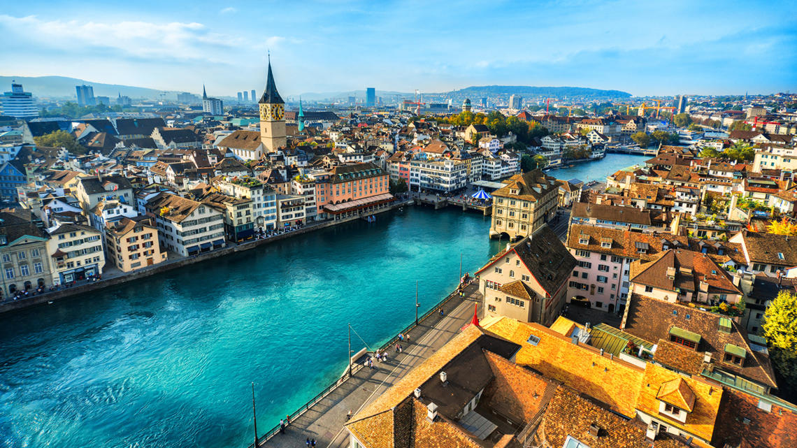 Zurich is the most expensive city in the world in 2020