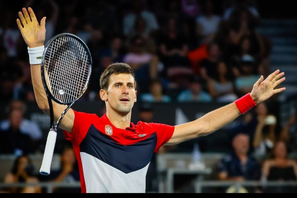 Novak Djokovic, one of the greatest male tennis players in history