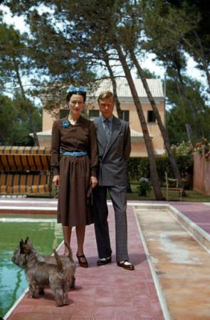 Duke and Duchess of Windsor in Cascais, Portugal - 1940