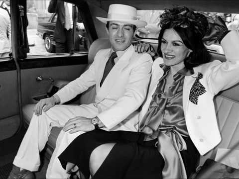 Paloma Picasso with her husband Rafael Lopez-Cambil