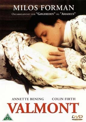 Valmont(film, 1989) starring Colin Firth, Annette Bening