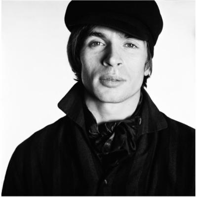 Rudolf Nureyev in 1965 photo by David Bailey