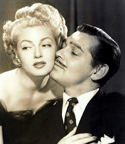 Clark Gable with Lana Turner