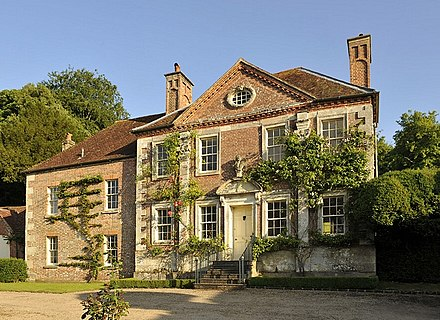 Cecil Beaton's home Reddish House in Broad Chalke, Wiltshire, England