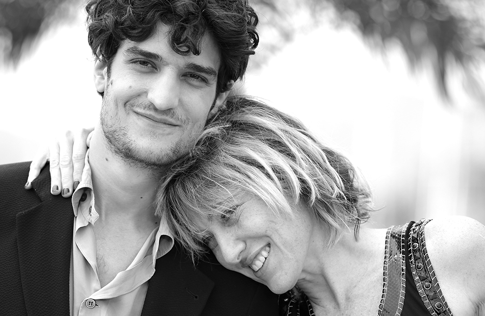 Louis Garrel and Valeria Bruni-Tedeschi at prremiere of the movie