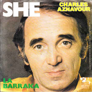 English song She by Charles Aznavour meaning, lyrics, parole Francis, Letra en español
