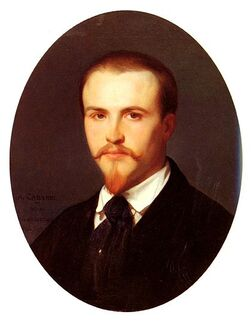 Self-portrait  of Alexandre Cabanel (1847)