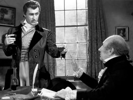 Stewart Granger as Brummell in a scene from the film Beau Brummell, 1954