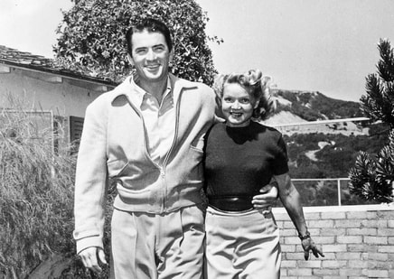Gregory Peck with his first wife Greta Kukkonen