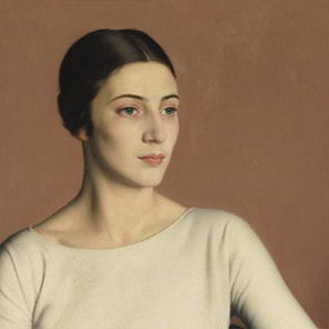 Marguerite Kelsey by Meredith Frampton, 1928, Tate Gallery, London