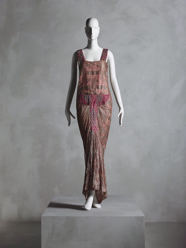 Dress, Madeleine & Madeleine (French, 1919-26), ca. 1923; Promised gift of Sandy Schreier. Photo: Nicholas Alan Cope, © The Metropolitan Museum of Art