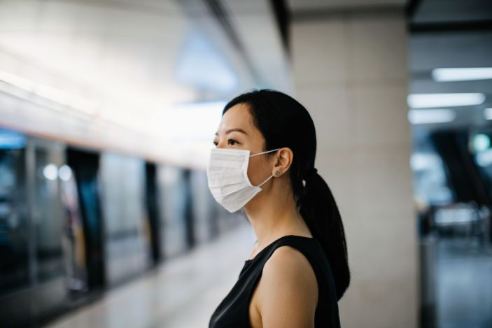 Hongkong people tend to wear surgical masks since outbreak of coronavirus whenever they go out after Sars