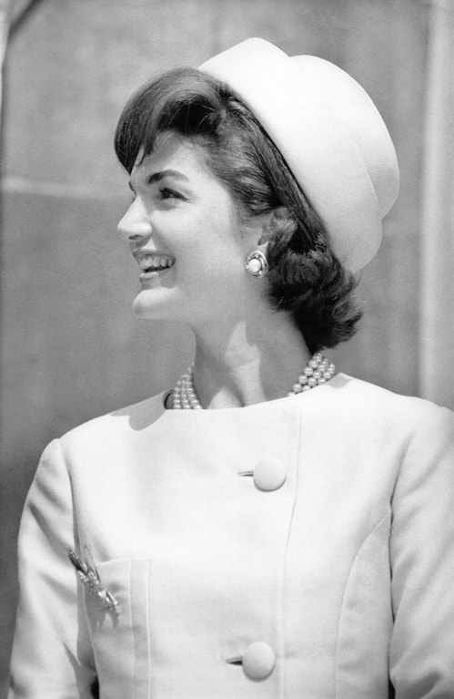 the women dressed by Roy Halston: jackie kennedy onassis