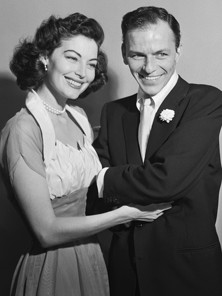 Ava Gardner and Frank Sinatra, her third and last husband