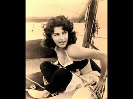 Ava Gardner when she was young