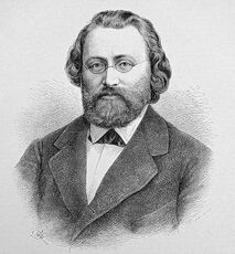 Max Bruch portrait wearing suits in glasses