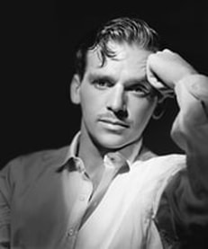 Douglas Fairbanks Jr. in shirt at Red Roofs