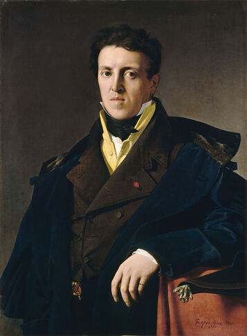 Portrait of Charles Marcotte (1810), National Gallery of Art, Washington DC