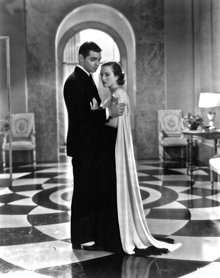 Clark Gable with Joan Crawford