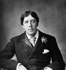 The most elegant writer Oscar Wilde style wearning suit