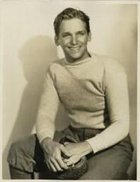 Douglas Fairbanks Jr. in sweater