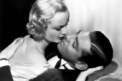 Clark Gable with Carole Lombard in film No Man of Her Own(1932)