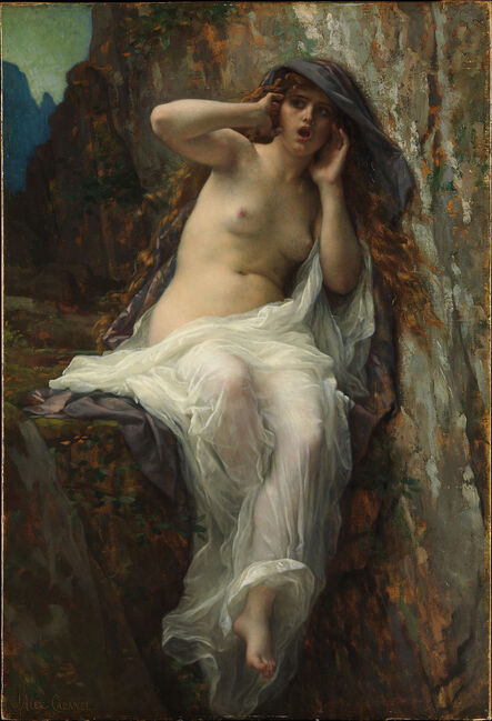Echo (1874) by Alexandre Cabanel