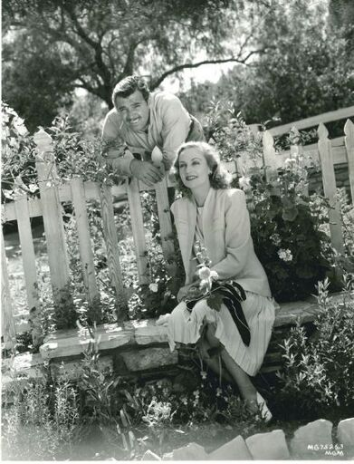 Clark Gable with Carole Lombard, his third wife