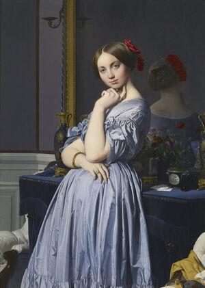 Portrait of Comtesse d'Haussonville (1845), Frick Collection, New York