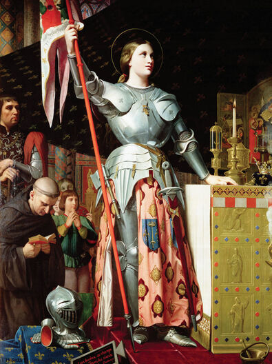 Joan of Arc at the Coronation of Charles VII, 1854, Louvre