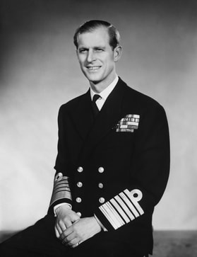 Prince Philip, Duke of Edinburgh on 10 June 1953, his 32th birthday